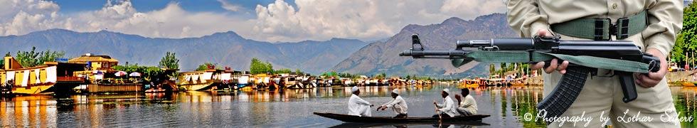 Die Kashmir Kriege, indische Soldaten im Happy Valley und der B�rgerkrieg