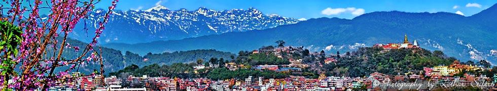 Kathmandu in Nepal, Pashupatinath und Pathan, Dakshinkalitempel und die gr��te Stupa