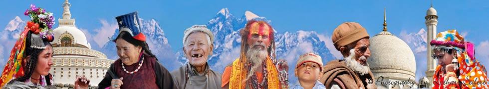 Auf abenteuerlichen Pfaden durch Nepal und Indien