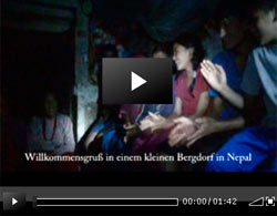 Video Bergdorf in Nepal